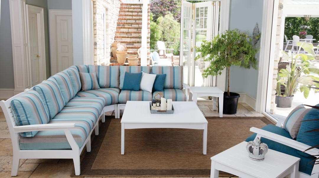 classic terrace sectional