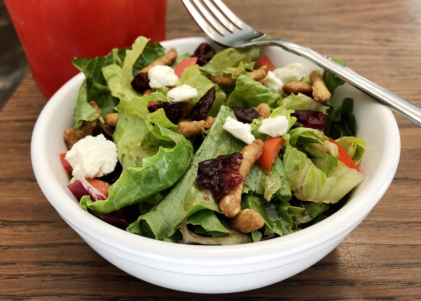 colorific lettuce salad