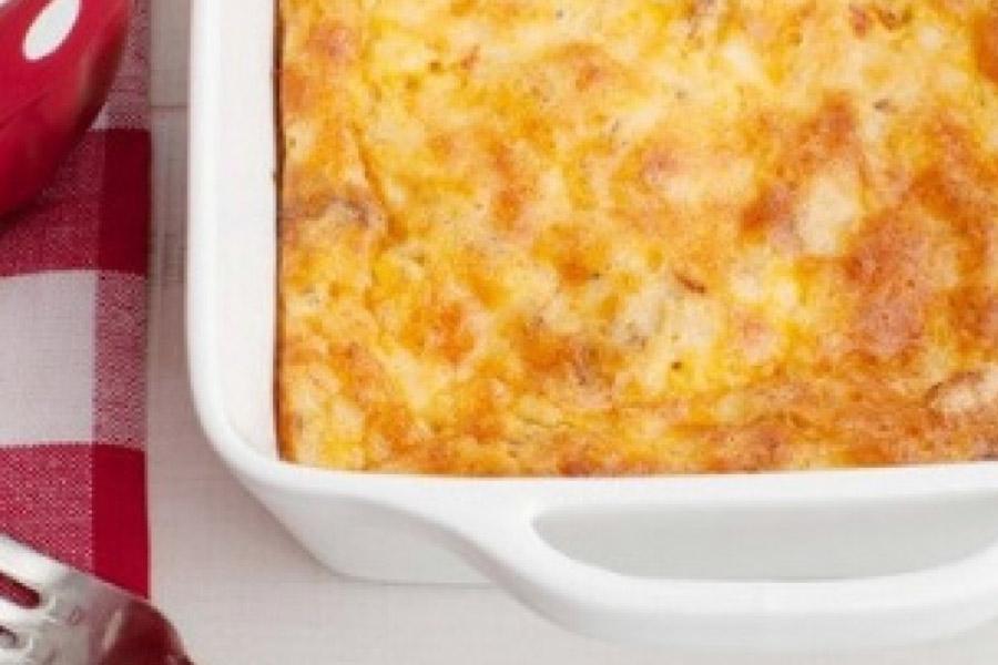 easy eggs cheese bake