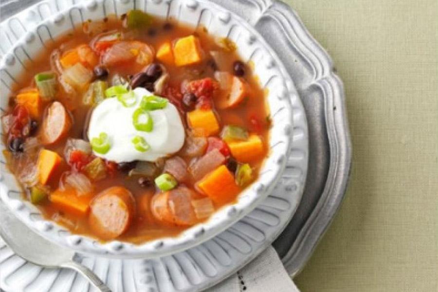 fiesta sweet potato soup