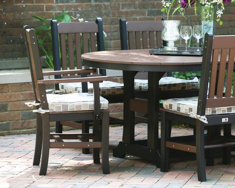 oval garden classic table