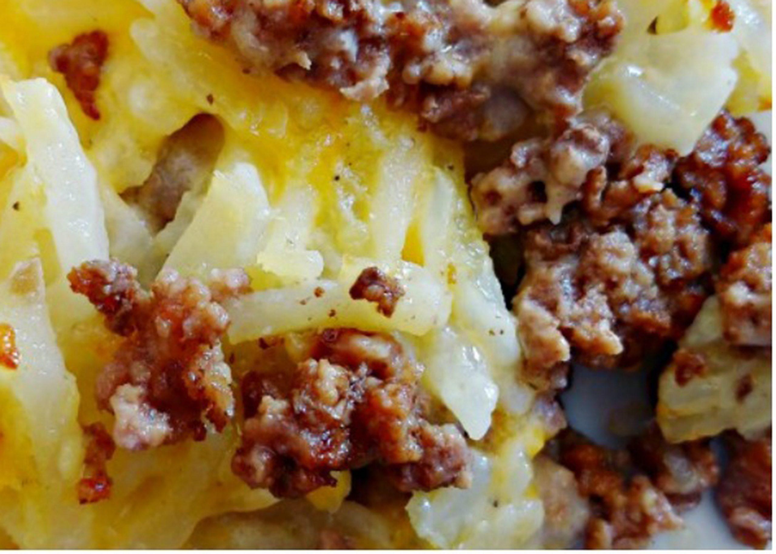 potato haystack casserole