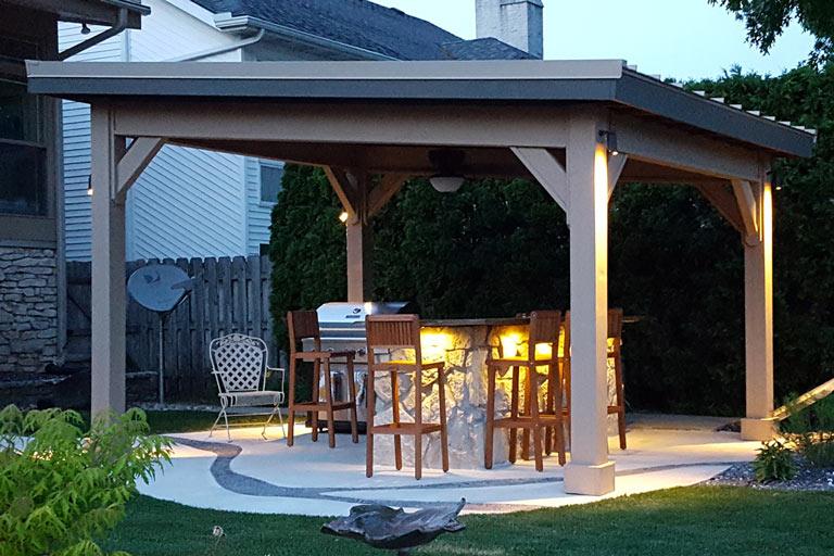 raber patio pavilions