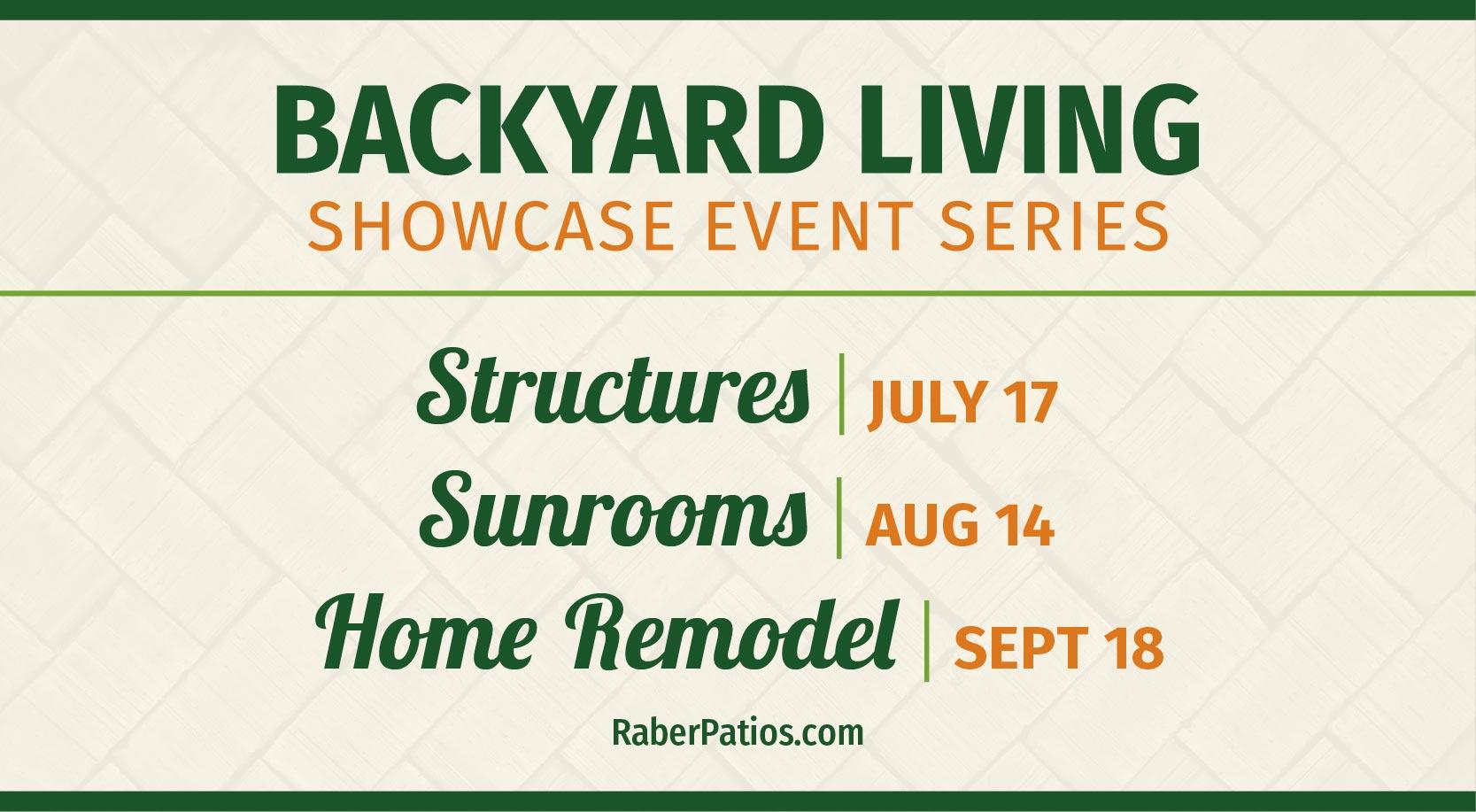 2021 backyard events